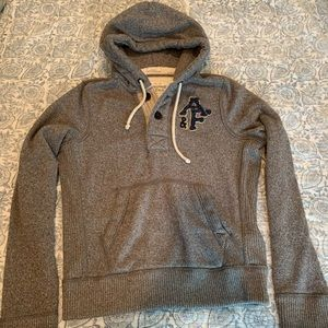 Abercrombie & Fitch men's muscle fit hoodie large